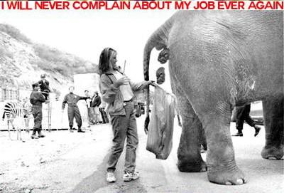 Δεν θα διαμαρτυρηθώ για την δουλειά μου... ξανά!