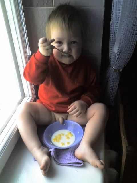 Μωρό που... τρώει!